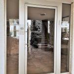 דלת כניסה דגם שער מאלומיניום